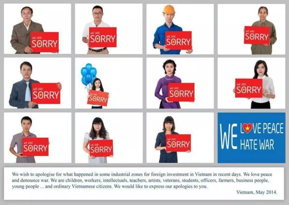 Apology From Vietnam