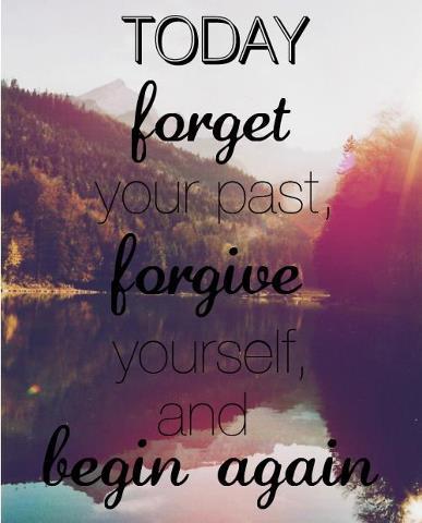 and begin again